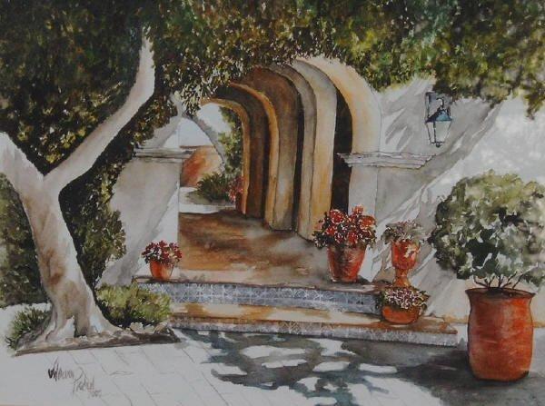 Aquarelle Malerei